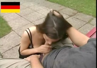 german legal age teenager copulates in the public
