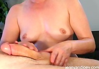 pleased ending knob massage