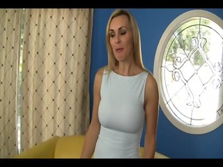 Tanya Tate , Emma Rae - Mom and Daughter Tag Team