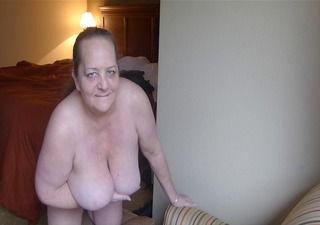 swinging breasts