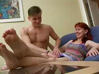 russian mama tempted by her son part5