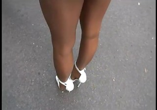 lgh - german hose + high heels outdoor