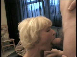 Hot MILF fucks her sons friend
