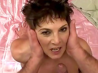 Lusty chubby granny gets fucked hard
