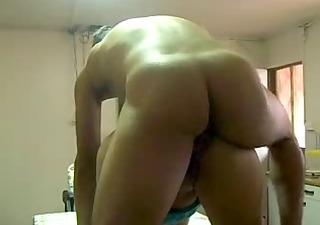 fuckin my neighbor doggy and cum on her ass