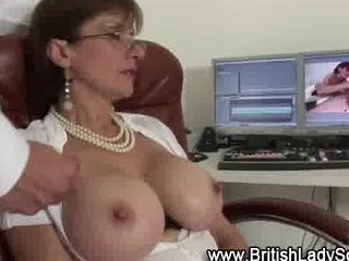 sexually excited aged lady sonia receives a jizz