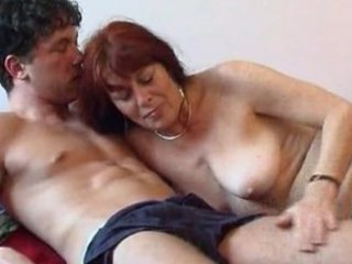 aged woman with a juvenile lad 8