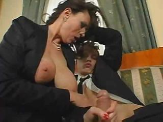 aged breasty secretary sex