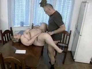 bulky german milf gets fucked