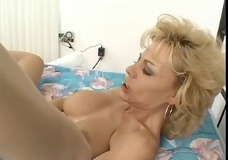 busty blond slender mother i in open hose fucks