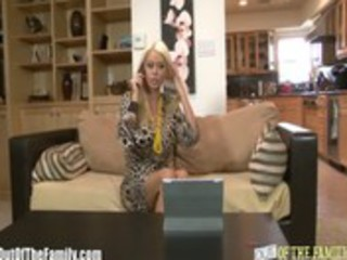 Big Tit Blonde Mother In Law Fucks Cheating Son