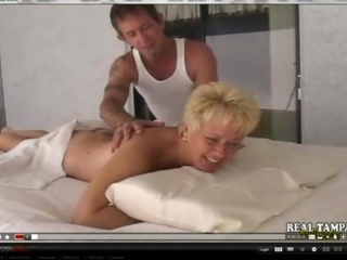 Amateur Mother Fucked On Massage Table