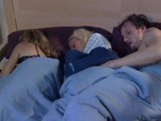 whilst mom sleeps brat and boyfriend play
