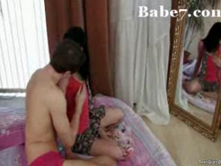 horny mommy has sex with her son