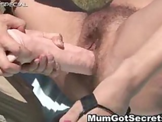 horny mother i receives her hirsute muf screwed