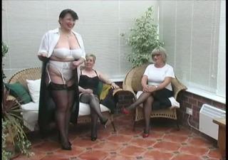 vintage stripping from older village ladies