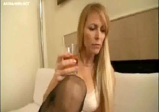 older golden-haired wife compulsory by japanese