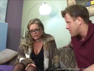 sexually excited step mommy pushes relationship