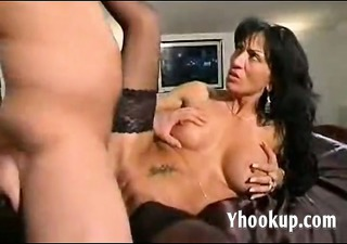 italian mommy and sons ally on cam