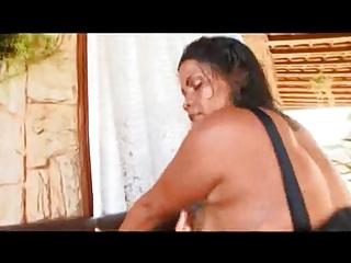 brazilian mom with giant a-hole