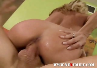 seduced cougar swallows