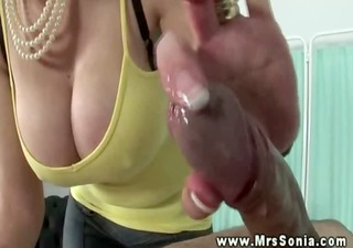 lady sonias sessions are full of tugging and