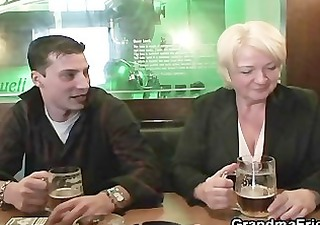 hot some with absolutely drunk granny
