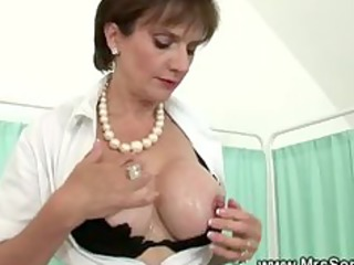 breasty wife acquires tittyfucked by fortunate