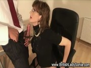 british older lady sonia gets a ejaculation