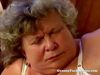 big plump granny blowing wang