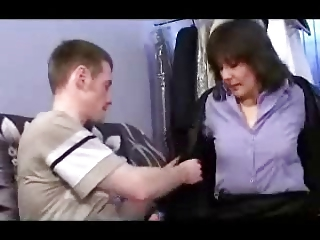 german mother and chap
